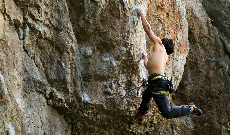 climbing despite fear