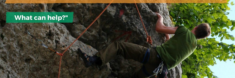 stiff back after climbing