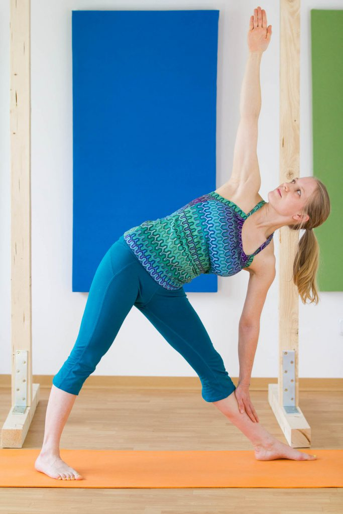 yoga climbing triangle