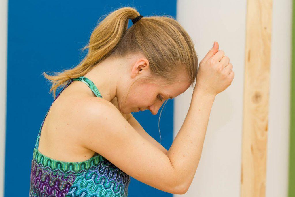 yoga relax shoulders neck